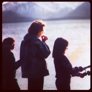 Bristol Bay 1986: Fishing with my sisters.