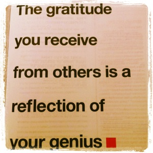gratitude genius