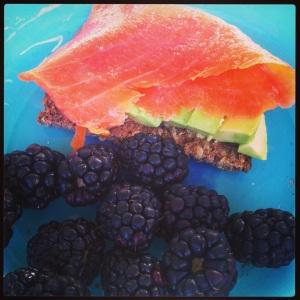 salmonberry breakfast