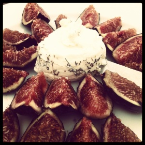 figs n goat cheese