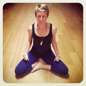me meditating