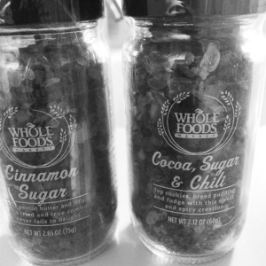 cinnamon sugar grinder