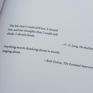 jung and dylan quotes