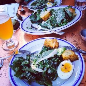 kale salad ironside