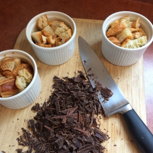chocolate croissant pudding - inprogess1