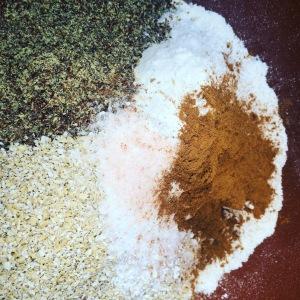 muffins - dry ingredients